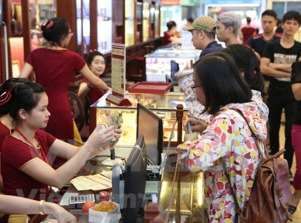Giá vàng trong nước đảo chiều giảm nhẹ 10.000-40.000 đồng